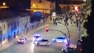 Spain protest against the new lockdowns happening right now