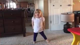 Amazing dancing of Cute baby Girl
