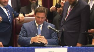 Governor DeSantis Bill Signing for Moment of Silence and Ambulance Services 6/14/21