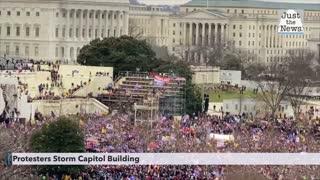 Protesters Storm U.S. Capitol Building