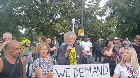 #LIVE Wimbledon Anti-Lockdown Freedom Rally Protest (11.07.21)
