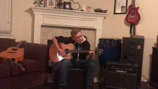 Little Teddy Covering A Little Willie Nelson (Blue Eyes Crying In The Rain)
