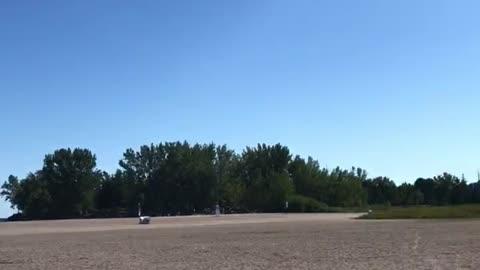 Various kites in Woodbine beach