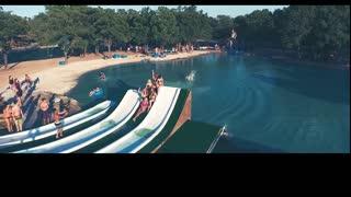 Stunning water slides