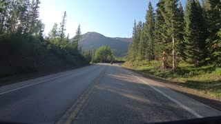 Million Dollar Highway Southbound from Ouray, CO