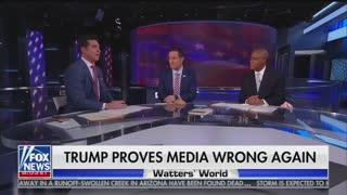 Kilmeade tells Jesse Watters negative coverage of Trump motivates his base