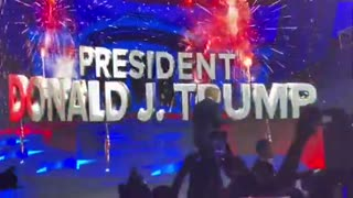Donald Trump Introduced To Massive Applause At Turning Point Rally