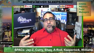Money Never Sleeps Radio with Louis Velazquez, Mar 1, 2021