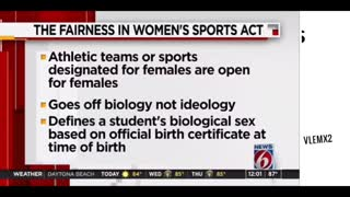 Florida Gov. DeSantis signs transgender female athletes bill