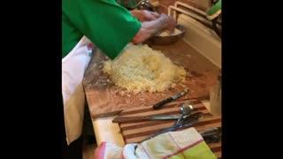 Nonna making Gnochi