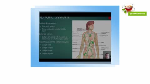 What does the lymphatic system do with all the toxins?