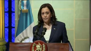 """Kamala Harris Tells People Thinking About Coming To Border, """"Do Not Come"""""""