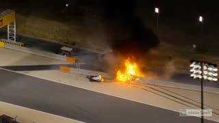 F1 Driver Crash...