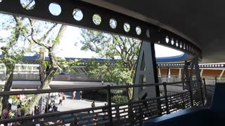 The People Mover Ride through at Walt Disney World