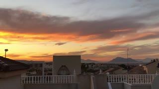 Today sunsets beautiful sun beautiful sunset