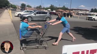 Try Not To Laugh : Funny Shopping Fails | Funny Videos 2021