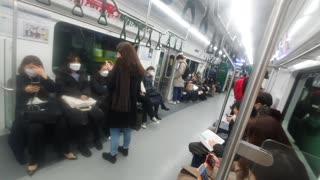 South korea Seoul Subway Line 2