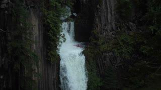 Kayaker Sends it Down Massive Waterfall
