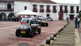 Nuevo vehículos de la Policía