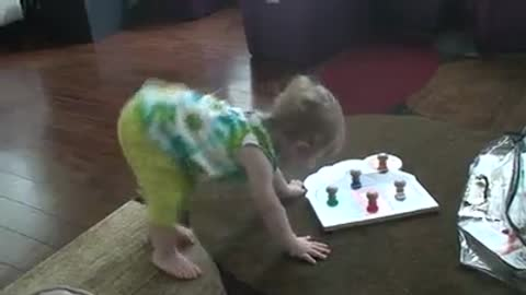 I've Never Seen a Baby Dance Like This Before! So Funny!