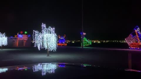 Christmas at Las Vegas speedway