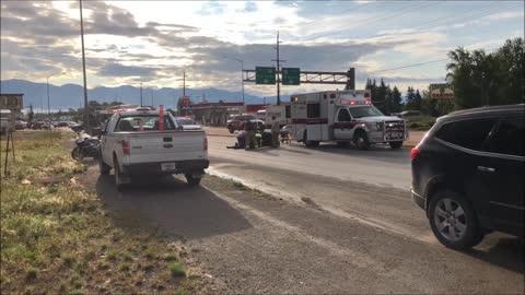 Man Down on Highway 2 - Kalispell, Montana