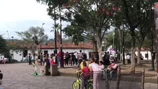 Marcha en Girón, Santander