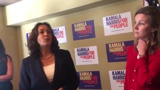 Kamala Harris pleads with whistleblower