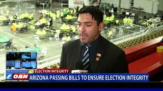 Ariz. passing bills to ensure election integrity