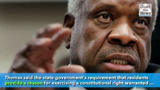 Justice Thomas calls out Supreme Court for rejecting review in gun rights case
