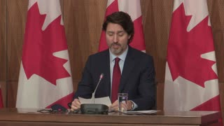 Prime minister justin Trudeau's message on covid-19 conditions