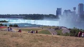 Sunny day at Niagara Falls