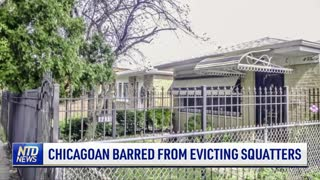 Chicagoan Barred From Evicting Squatters