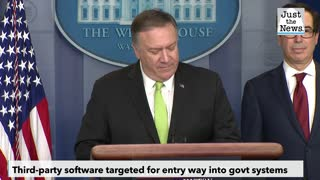 Pompeo says Russia 'pretty clearly' behind massive cyberattack against U.S.