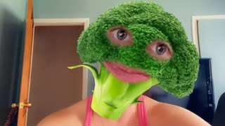 MS Broccoli says EAT YOUR VEGETABLES!!!