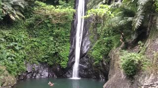 Lover's waterfall