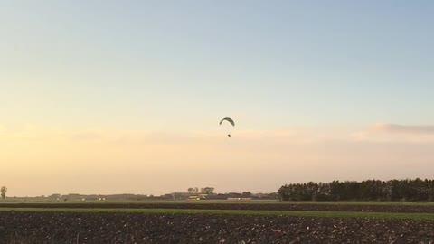 Paraglider says hi