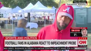 Black man tells CNN that President Trump has been treated unfairly by Democrats