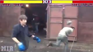 Funny vedio street fighter