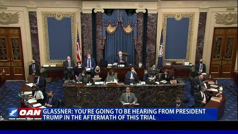 Michael Glassner: You're going to be hearing from President Trump in the aftermath of this trial
