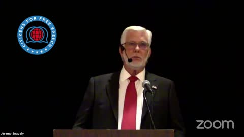 Patrick Wood at Doctors for Disaster Preparedness 2021 conference