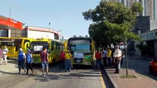Paro de buses y taxis | Norte de Bucaramanga