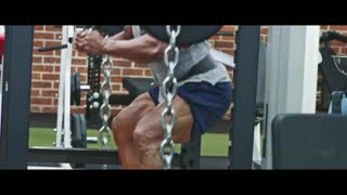 """Get motivated by watching Dwayne Johnson """"The Rock"""" Train."""