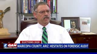 Maricopa County, Ariz. hesitates on forensic audit