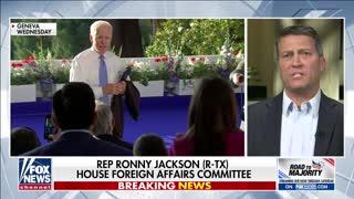 Rep. Ronny Jackson on Joe Biden's Mental and Physical Health