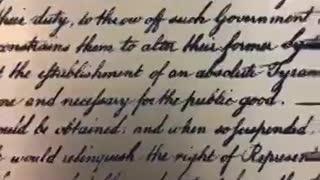 Général Flynn vient de signer la nouvelle déclaration d'indépendance Vidéo 2