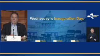 Governor Cuomo Announces That He Will Not Be Attending Biden's Inauguration