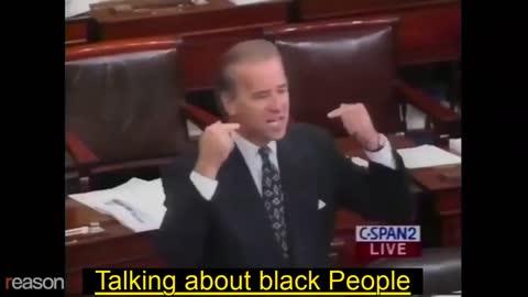 Joe biden racists remarks.