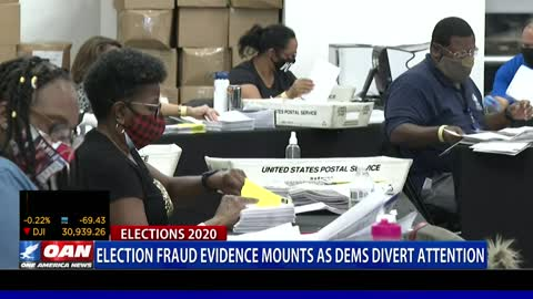 Election fraud evidence mounts as Democrats divert attention