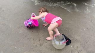 Fast Moving Storm Puts Damper on Beach Fun